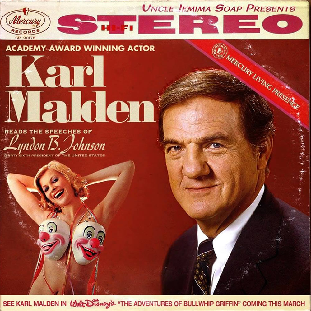Karl Malden - Speeches of Lyndon Johnson