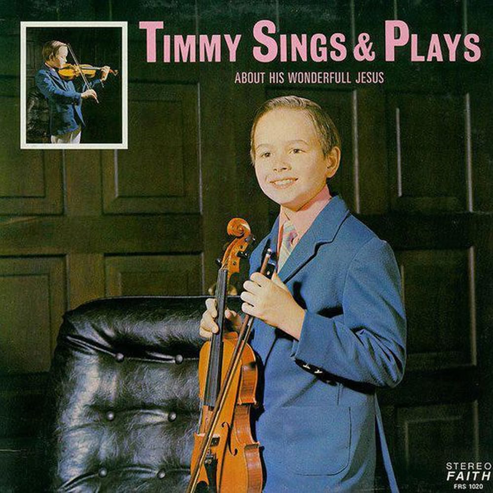 Timmy - Timmy Sings and Plays About His Wonderfull Jesus